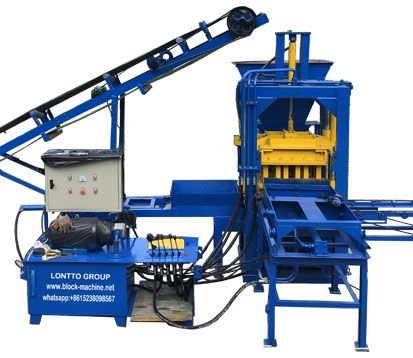 QT3-20 Concrete Block Making Machine