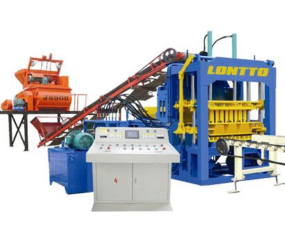 QT4-15 Concrete Block Making Machine