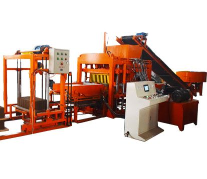 QT4-18 Concrete Block Making Machine for sale